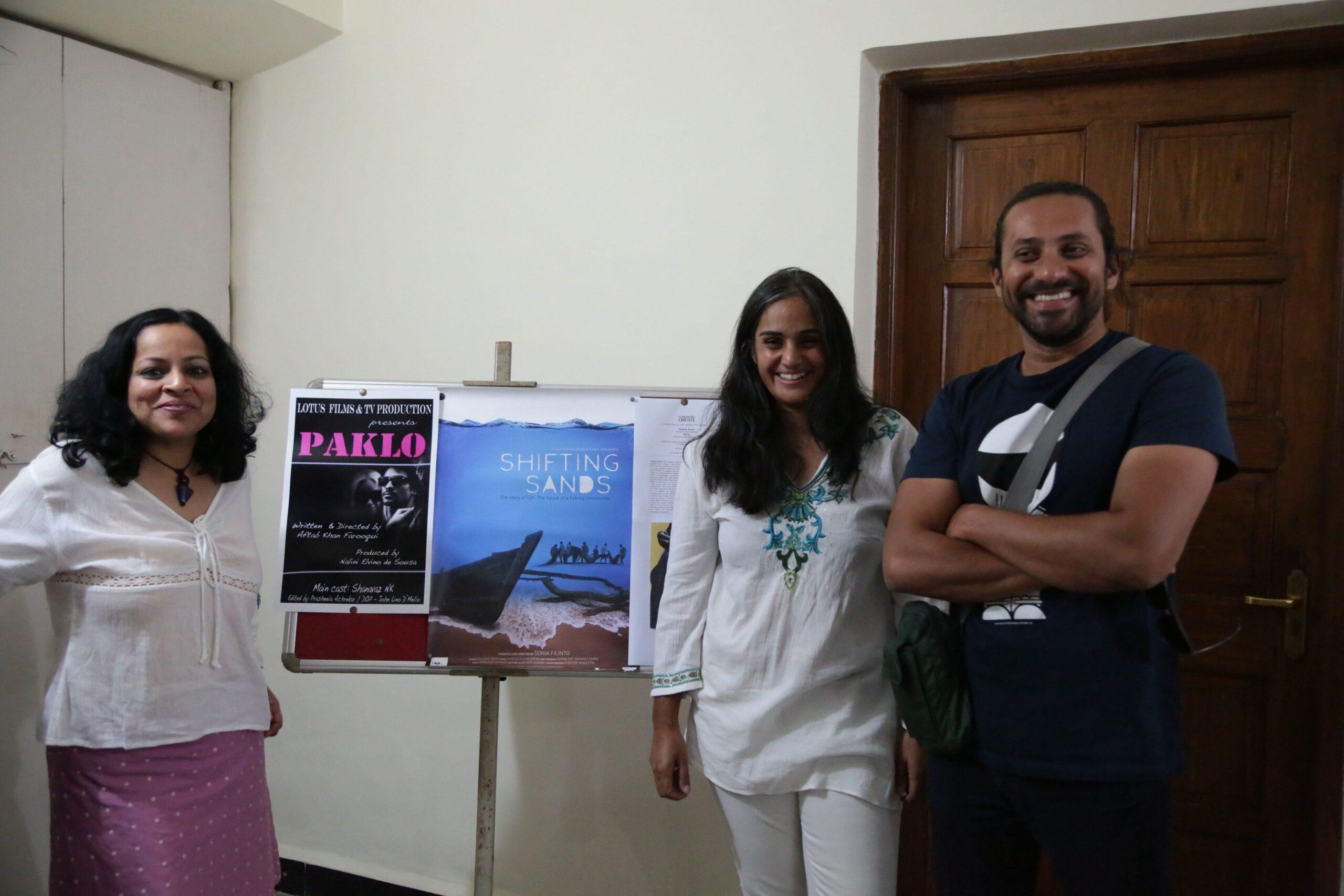 Screening at Fundação Oriente Feb 2014   Paklo Short Movie   Lotus Film Goa