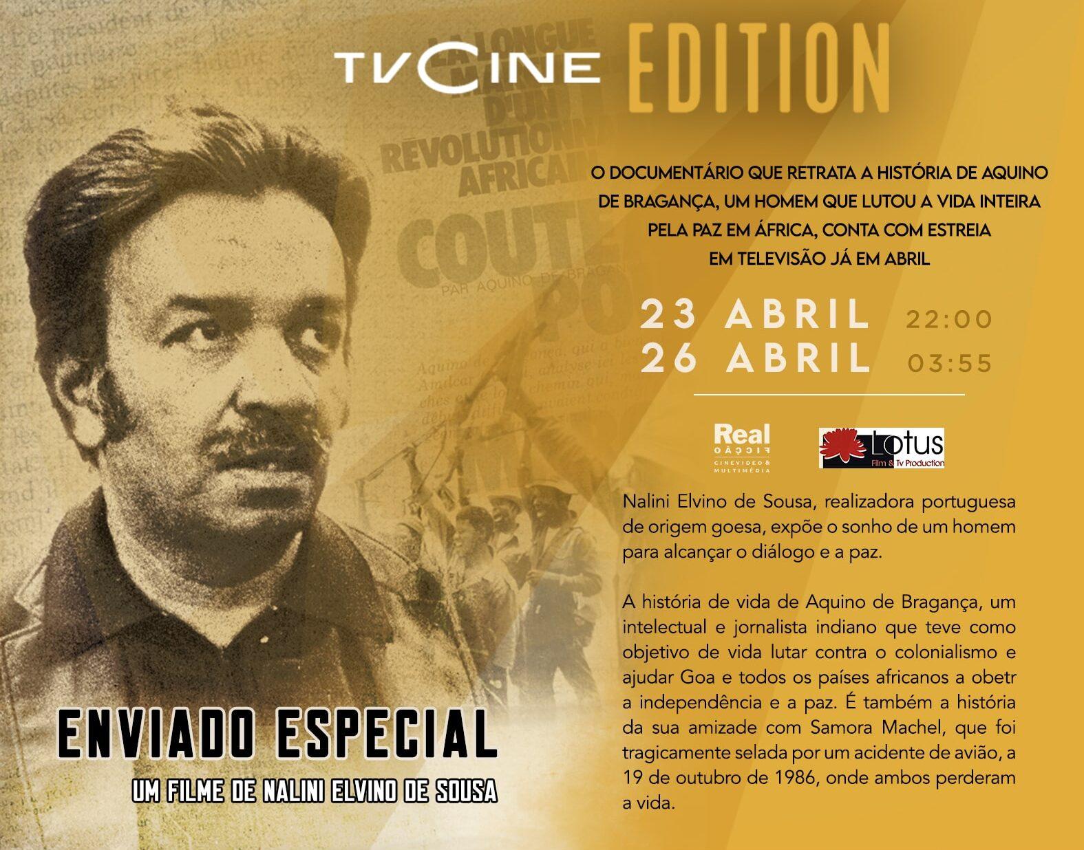Enviado Especial   Lotus Film Goa   Nalini Elvino De Sousa
